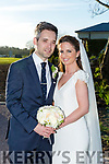 Joanne James and Ronan Cooper were married at St. Mary's Church, Ballyheigue on saturday 25th March 2017 with a reception at Ballygarry House hotel