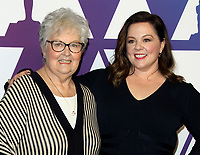 04 February 2019 - Los Angeles, California - Melissa McCarthy, mother Sandy McCarthy. 91st Oscars Nominees Luncheon held at the Beverly Hilton in Beverly Hills. Photo Credit: AdMedia