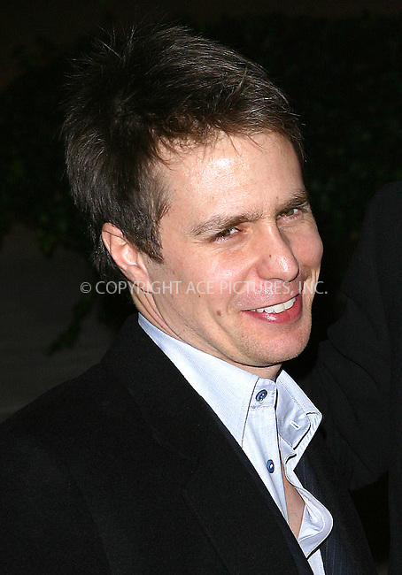 Sam Rockwell at the NY premiere of 'Confessions Of A Dangerous Mind' held at the Paris Theater. New York, December 19, 2002..Please byline: NY Photo Press. REF: M19 -- THIS REFERENCE CODE MUST APPEAR ON YOUR SALES REPORT, THANK YOU.....*PAY-PER-USE*      ....NY Photo Press:  ..phone (646) 267-6913;   ..e-mail: info@nyphotopress.com