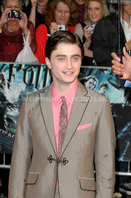 "WWW.ACEPIXS.COM . . . . .  ..... . . . . US SALES ONLY . . . . .....July 7 2009, London....Actor Daniel Radcliffe at the World Premiere of ""Harry Potter And The Half-Blood Prince"" held at the Empire Leicester Square on July 7 2009 in London....Please byline: FAMOUS-ACE PICTURES... . . . .  ....Ace Pictures, Inc:  ..tel: (212) 243 8787 or (646) 769 0430..e-mail: info@acepixs.com..web: http://www.acepixs.com"