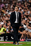 Julen Lopetegui Head Coach of Real Madrid during their La Liga  2018-19 match between Real Madrid CF and Atletico de Madrid at Santiago Bernabeu on September 29 2018 in Madrid, Spain. Photo by Diego Souto / Power Sport Images