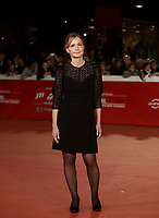 L'attrice Giovanna Mezzogiorno posa durante il red carpet del film 'Tornare' alla 14^ Festa del Cinema di Roma all'Aufditorium Parco della Musica di Roma, 26 ottobre 2019. <br /> Italian actress Giovanna Mezzogiorno poses on the red carpet of the movie 'Tornare' during the 14^ Rome Film Fest at Rome's Auditorium, on 26 October 2019.<br /> UPDATE IMAGES PRESS/Isabella Bonotto