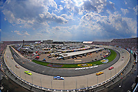Jun 1, 2008; Dover, DE, USA; NASCAR Sprint Cup Series drivers race during the Best Buy 400 at the Dover International Speedway. Mandatory Credit: Mark J. Rebilas-US PRESSWIRE