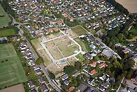 Am Salteich: EUROPA, DEUTSCHLAND, SCHLESWIG HOLSTEIN, (GERMANY), 03.05.2014: Wohnungsbau Am Salteich, Schönningstedt