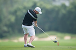 Paul Scholes plays during the World Celebrity Pro-Am 2016 Mission Hills China Golf Tournament on 23 October 2016, in Haikou, Hainan province, China. Photo by Marcio Machado / Power Sport Images