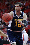 15 March 2017:  Ioannis Dimakopoulos during a College NIT (National Invitational Tournament) mens basketball game between the UC Irvine Anteaters and Illinois State Redbirds in  Redbird Arena, Normal IL