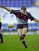 Photo - Peter Spurrier.25/01/2003 .Powergen Cup Quarter final London Irish v Rotherham.Ramiro Pez