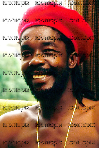 Peter Tosh (19 Oct 1944 - 11 Sept 1987) - photographed exclusively at the Hilton Hotel Kensington London UK - 30 May 1981.  Photo: George Chin/IconicPix