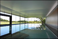 BNPS.co.uk (01202 558833)<br /> Pic: Jackson-Stops&amp;Staff/BNPS<br /> <br /> 12 metre infinity pool.<br /> <br /> For sale - Super home with its own leisure centre attached.<br /> <br /> The buyers of this stunning country property will never need to leave home again - with their own leisure complex at their fingertips.<br /> <br /> Birchwood House in Hoar Cross, Staffs, is a bespoke five-bedroom house that makes the most of the incredible countryside surrounding it with floor to ceiling windows in most rooms.<br /> <br /> But the really unusual selling feature is its unsurpassed leisure suite with a purpose-built gym, 15-metre swimming pool, sauna and steam room. <br /> <br /> It might save you a fortune in gym fees, but any wannabe owners will need &pound;2.75million to get their hands on this cutting edge, contemporary pad.<br /> <br /> The house also has a media room which currently has a pool table and a home cinema, meaning you really could settle in for the long haul.