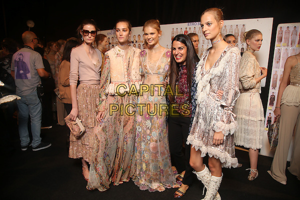 ETRO<br /> backstage at Milan Fashion Week, Ready to Wear, Spring Summer 2016, Milan, Italy September 25, 2015.<br /> CAP/GOL<br /> &copy;GOL/Capital Pictures