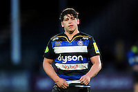 Dan Frost of Bath United looks on during a break in play. Aviva A-League match, between Bath United and Wasps A on December 28, 2016 at the Recreation Ground in Bath, England. Photo by: Patrick Khachfe / Onside Images