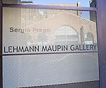 Lehmann Maupin Gallery, Chelsea, New York, New York
