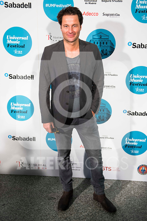 Fernando Andina attends to the photocall of the Rod Stewart concert at Teatro Real in Madrid. July 05. 2016. (ALTERPHOTOS/Borja B.Hojas)