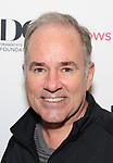 Stephen Flaherty attends the reception for the 2018 Presentation of New Works by the DGF Fellows on October 15, 2018 at the Playwrights Horizons Theatre in New York City.