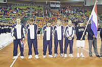 010210 Daviscup Netherlands-Spain