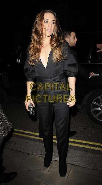 Mel C - Melanie Chisholm.The George Michael special concert, Royal Opera House, Covent Garden, London, England..November 6th, 2011.full length black jacket trousers wrap belted bow .CAP/CAN.©Can Nguyen/Capital Pictures.