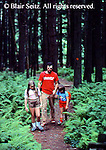 Outdoor recreation, Father and Daughters Hike in PA Wilderness