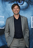 "LOS ANGELES, CA July 12- Mark Duplass,  At Premiere Of HBO's ""Game Of Thrones"" Season 7 at The Walt Disney Concert Hall, California on July 12, 2017. Credit: Faye Sadou/MediaPunch"