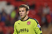 11/08/2015 Capital One Cup, First Round Fleetwood Town v Hartlepool United<br /> Chris Maxwell, Fleetwood Town