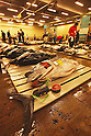 File photo - Tunas , Sep 5th 2008 : In the early morning, fishermen starts selling their fresh fish at the fish market in Tsukiji, Japan. (Photo by Takuya Matsunaga/AFLO)