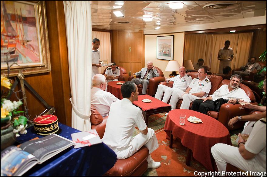 2009 / Appartement du Commandant. <br /> Le salon