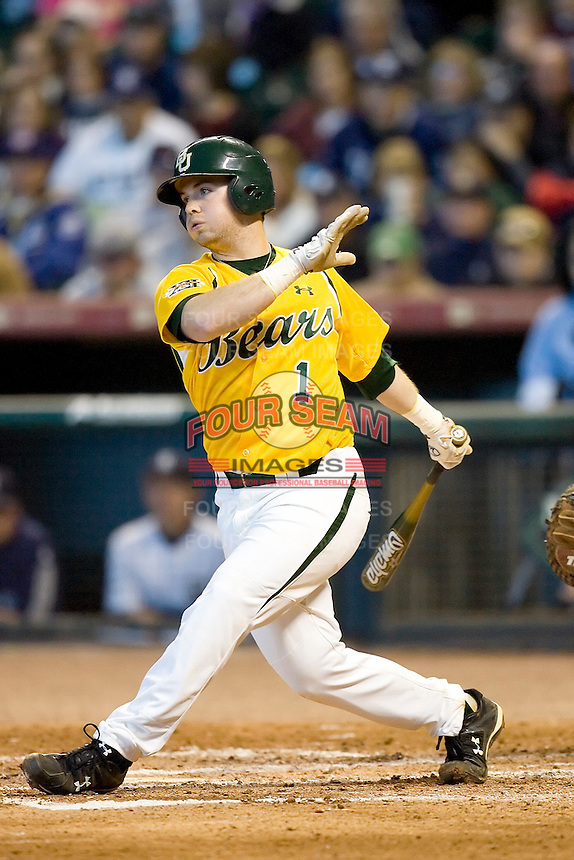 Baylor Bears baseball at the Houston College Classic Sunday March 1st 2009 at Minute Maid Park in Houston, Texas. Photo by Andrew Woolley.