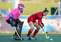 Action during the World Hockey League quarter final match between Germany and Korea. North Harbour Hockey Stadium, Auckland, New Zealand. Wednesday 22 November 2017. Photo:Simon Watts / www.bwmedia.co.nz
