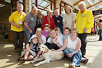Pix: Shaun Flannery/shaunflanneryphotography.com...COPYRIGHT PICTURE>>SHAUN FLANNERY>01302-570814>>07778315553>>..9th April 2011...............Lakeside Village, Doncaster..Guide Dog puppy, Parky pictured with the Parkhous family who named the dog.