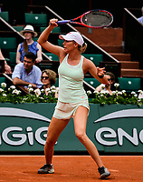 DANIELLE COLLINS (USA)<br /> <br /> TENNIS - FRENCH OPEN - ROLAND GARROS - ATP - WTA - ITF - GRAND SLAM - CHAMPIONSHIPS - PARIS - FRANCE - 2018  <br /> <br /> <br /> <br /> &copy; TENNIS PHOTO NETWORK