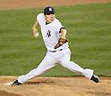 Masahiro Tanaka (Yankees),<br /> APRIL 27, 2014 - MLB :<br /> Masahiro Tanaka of the New York Yankees pitches during the Major League Baseball game against the Los Angeles Angels at Yankee Stadium in Bronx, New York, United States. (Photo by AFLO)
