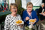 Josc Uí Riaigin and Mairead De Barra, Dingle, pictured at the Dingle Food Festival on Saturday afternoon last.