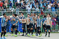 São Paulo (SP), 25/01/2020 - Internacional-Grêmio - Gol do Grêmio. Partida entre Internacional e Grêmio válida pela final da Copa São Paulo no estádio Paulo Machado de Carvalho (Pacaembu) neste sábado (25).