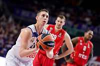 Real Madrid's Jaycee Carroll during Turkish Airlines Euroleague match between Real Madrid and Crvena Zvezda Mts Belgrade at Wizink Center in Madrid, Spain. March 10, 2017. (ALTERPHOTOS/BorjaB.Hojas) /NortePhoto.com