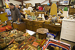 People browsing items in Abbots auction rooms, Campsea Ashe, Suffolk, England