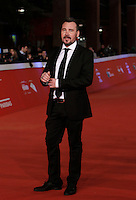 "L'attore russo Rinat Khismatouline posa sul red carpet per la presentazione del film ""La foresta di ghiaccio"" al Festival Internazionale del Film di Roma, 23 ottobre 2014.<br /> Russian actor Rinat Khismatouline poses on the red carpet to present the movie ""La foresta di ghiaccio"" during the international Rome Film Festival at Rome's Auditorium, 23 October.<br /> UPDATE IMAGES PRESS/Isabella Bonotto"