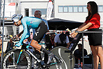 Fabio Aru (ITA) Astana leaves the start ramp during Stage 16 of the 2017 La Vuelta, an individual time trial running 40.2km from Circuito de Navarra to Logro&ntilde;o, Spain. 5th September 2017.<br /> Picture: Unipublic/&copy;photogomezsport | Cyclefile<br /> <br /> <br /> All photos usage must carry mandatory copyright credit (&copy; Cyclefile | Unipublic/&copy;photogomezsport)