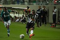 BELO HORIZONTE, MG, 04.05.2014 &ndash; CAMPEONATO BRASILEIRO 2014 &ndash; ATL&Eacute;TICO-MG X GOI&Aacute;S Marion jogador do Atl&eacute;tico-MG durante jogo contra Goi&aacute;s valido pela 3&ordf; rodada do <br /> Campeonato Brasileiro 2014, no est&aacute;dio Arena Independ&ecirc;ncia, na noite deste Domingo (04) (Foto: MARCOS FIALHO / BRAZIL PHOTO PRESS)