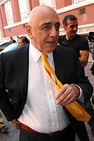 Adriano Galliani Ac Milan's manager<br /> Roma 25/7/2008 Coni Salone d'onore<br /> Compilazione calendari calcio Serie A e B 2008/2009<br /> Draw of football matches Serie A schedule<br /> Foto Andrea Staccioli Insidefoto