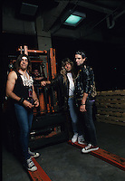 Motorhead Photo Session Meadowlands Arena New Jersey 1991