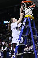 31 March 2008: Jeanette Pohlen during Stanford's 98-87 win over the University of Maryland in the elite eight game of the NCAA Division 1 Women's Basketball Championship in Spokane, WA.