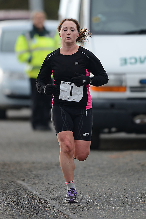 The Drogheda Energie Triathlon club's first Duathlon event of the year at Dunleer. Photo:Colin Bell/pressphotos.ie