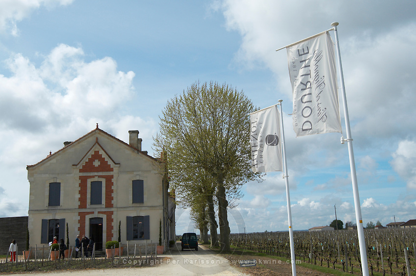 flags winery ch gd barrail lamarzelle figeac saint emilion bordeaux france
