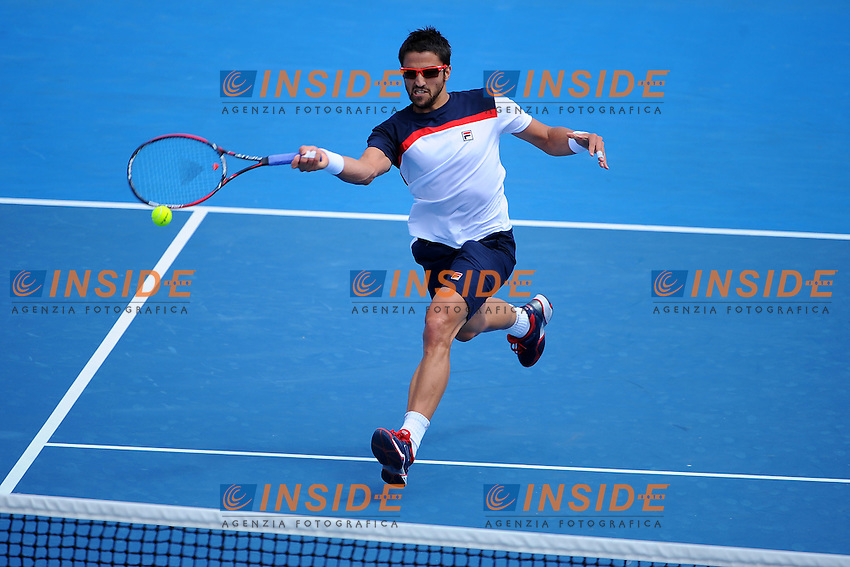 Janko Tipsarevic (SRB) .Melbourne 17/1/2013 .Tennis Australian Open .Foto Bouyer / Tennismag / Panoramlc / Insidefoto.ITALY ONLY
