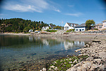 The from the beach of East Sound, Orcas Island, San Juan Islands, Washington