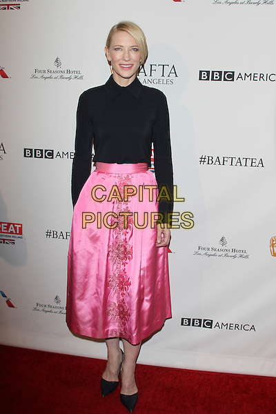 LOS ANGELES, CA - JANUARY 9: Cate Blanchett at the BAFTA Los Angeles Awards Season Tea at Four Seasons Hotel Los Angeles at Beverly Hills on January 9, 2016 in Los Angeles, California. <br /> CAP/MPI27<br /> &copy;MPI27/Capital Pictures