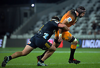Jaguares' Juan Manuel Leguizamon in action during the Super Rugby match between the Highlanders and Jaguares at Forsyth Barr Stadium in Dunedin, New Zealand on Saturday, 11 May 2019. Photo: Dave Lintott / lintottphoto.co.nz