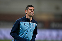 1st November 2019; Dens Park, Dundee, Scotland; Scottish Championship Football, Dundee Football Club versus Greenock Morton; Graham Dorrans of Dundee during the warm up before the match  - Editorial Use
