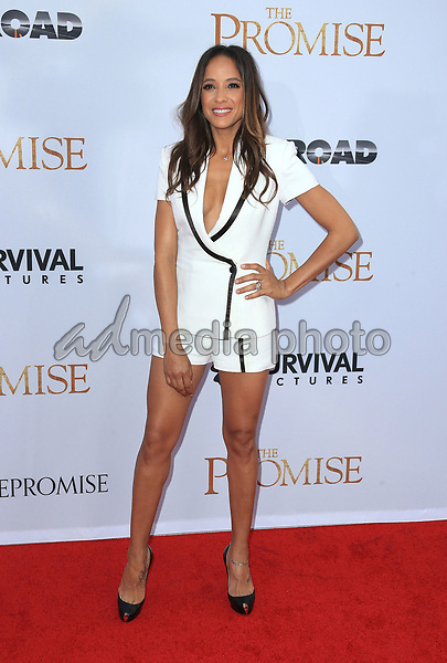 """12 April 2017 - Hollywood, California - Dania Ramirez. Premiere Of Open Road Films' """"The Promise"""" held at TCL Chinese Theatre. Photo Credit: AdMedia"""