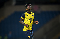 Tariqe Fosu of Oxford United during the The Leasing.com Trophy match between Oxford United and Norwich City U21 at the Kassam Stadium, Oxford, England on 3 September 2019. Photo by Andy Rowland.
