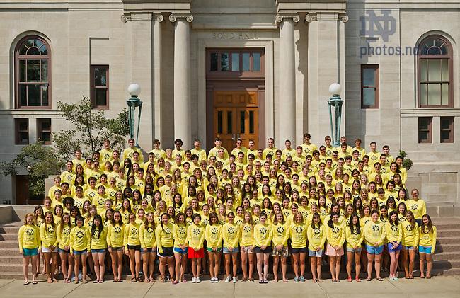 Aug. 26, 2013; Center for Social Concerns Summer Service Learning Program (SSLP)<br /> <br /> Photo by Matt Cashore/University of Notre Dame